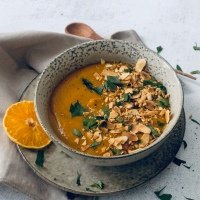 Sweet Potato Chilli & Orange Soup